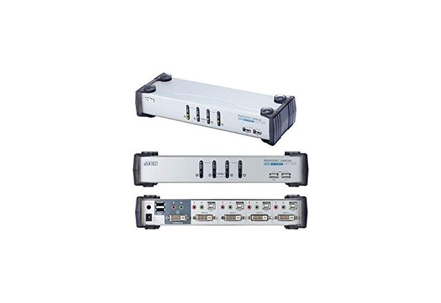 4-Port USB DVI KVMP™ Switch