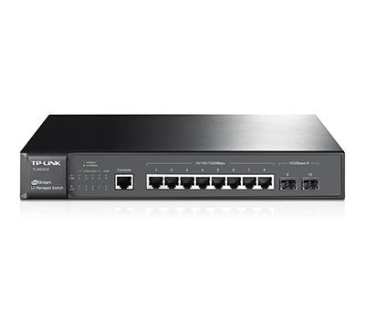 TP-Link JetStream 8-Port Gigabit L2 Managed Switch with 2