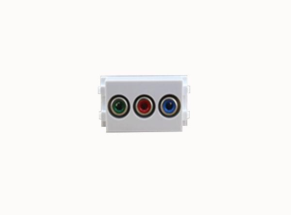 Connector AV to Audio(AV)(RGB)