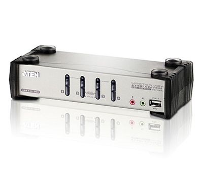 4-Port PS/2-USB VGA/Audio KVMP™ Switch with OSD