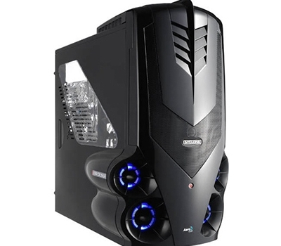 Gaming casing Syclone II Red and Black colors