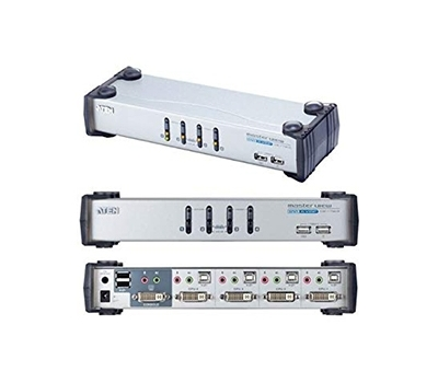4-Port USB DVI KVMP™ Switch