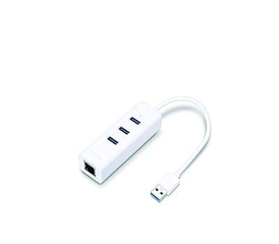 TP-Link USB 3.0 3-Port Hub & Gigabit Ethernet Adapter 2in