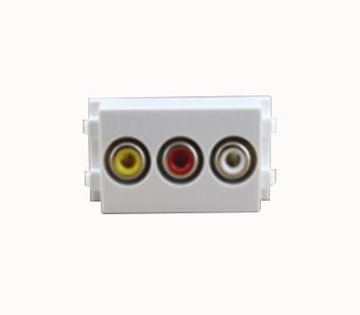 Connector AV to Audio(AV)(RCA)