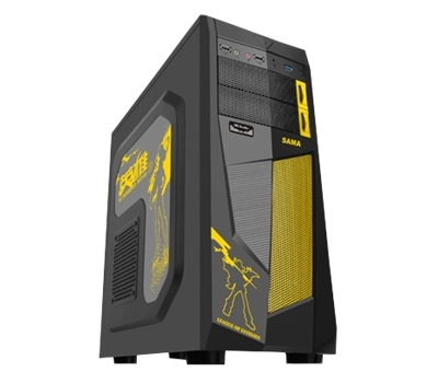Gaming casing SA03  + fan x 2pcs