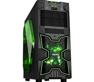 Gaming casing SA02 + fan x 2 pcs