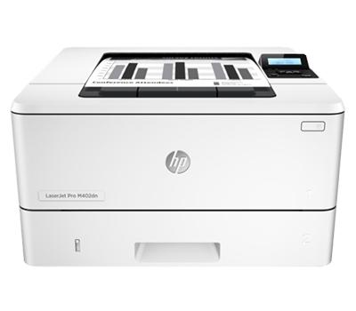 Printing HP LaserJet Pro M402dn