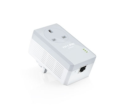 AV500 Powerline Adapter with AC Pass Through