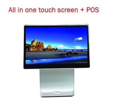 Monitor All In one Touch screen+ POS58mm