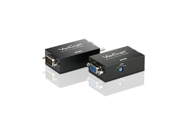 Mini VGA/Audio Cat 5 Extender (1280 x 1024@150m)
