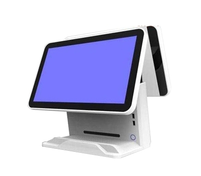 POS touch screen 15.6 x 16.9 inch double screen