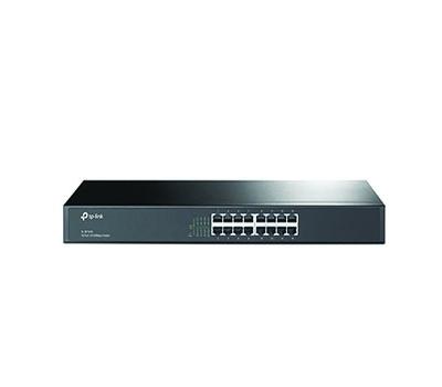 TP-Link 16-Port 10/100Mbps Rackmount Switch