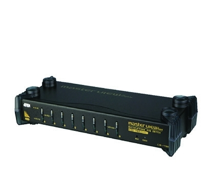 8-Port PS/2-USB VGA/Audio KVM Switch