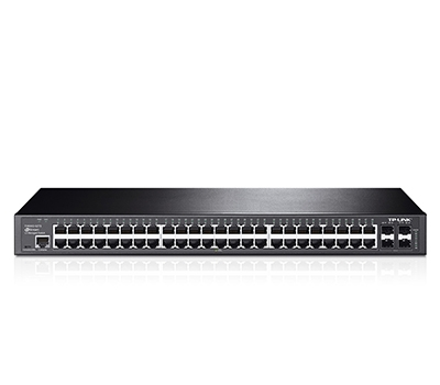 TP-Link JetStream 48-Port Gigabit L2 Managed Switch with 4