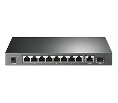10-Port Gigabit Desktop Switch with 8-Port PoE+