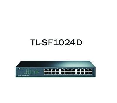 TP-Link 24-port 10/100Mbps Desktop/Rackmount Switch